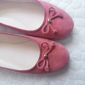 Cole Haan ballet flats suede shoes 9.5 comfy